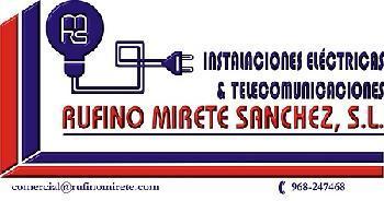 RUFINO MIRETE S�NCHEZ, S.L.