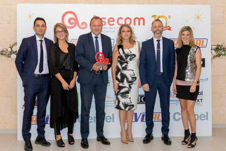 ASECOM premia a Carrillo Asesores por su Trayectoria Profesional