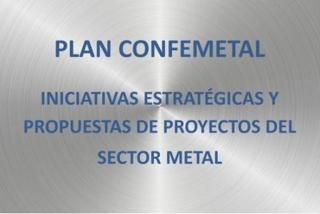 CONFEMETAL presenta su iniciativa de estrategias y proyectos