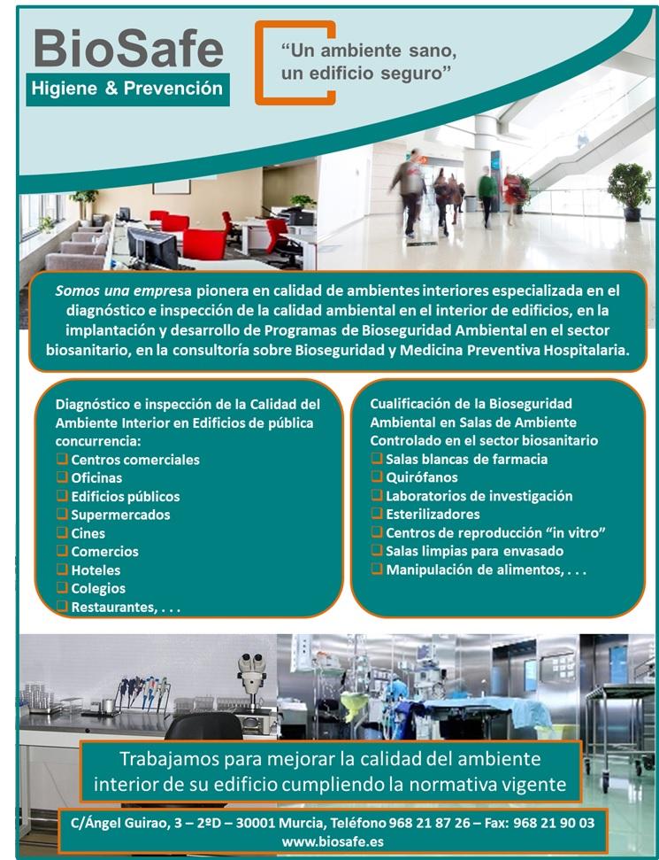 Biosafe ofrece calidad ambiental a las empresas de FREMM