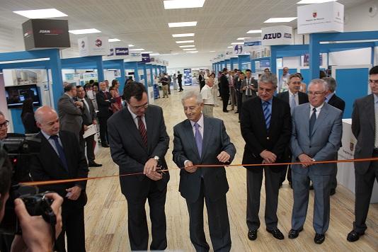 El consejero de Industria inaugura el II Salón de Tecnologías del Agua en el anexo al Centro de Congresos Víctor Villegas