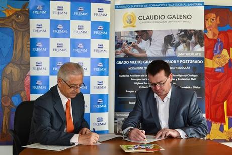 FREMM y el Instituto Superior de FP Claudio Galeno unen fuerzas
