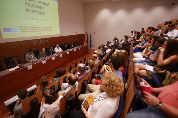 EOI y el SEF clausuran el Programa Murinnova tras involucrar a 150 pymes en la innovación