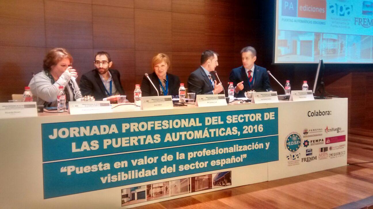 FREMM y AFIPA impulsan la demanda de un plan renove  estatal de puertas automáticas