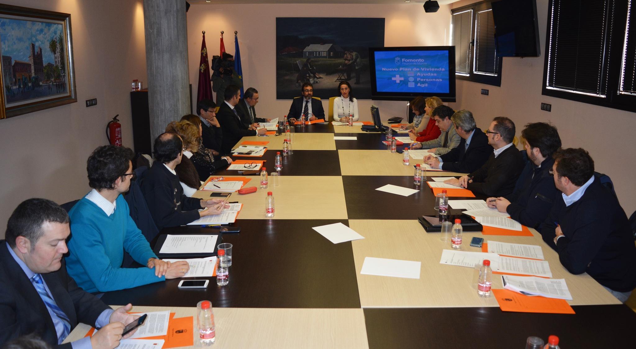 FREMM participa en la redacción del nuevo Plan de Vivienda