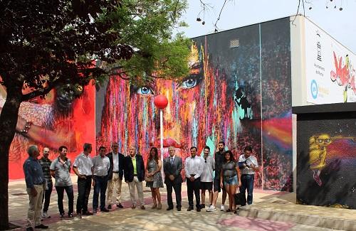 El arte urbano une aún más a FREMM con los jóvenes