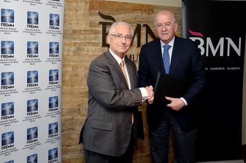 FREMM y BMN acuerdan líneas especiales de financiación para las empresas del metal asociadas
