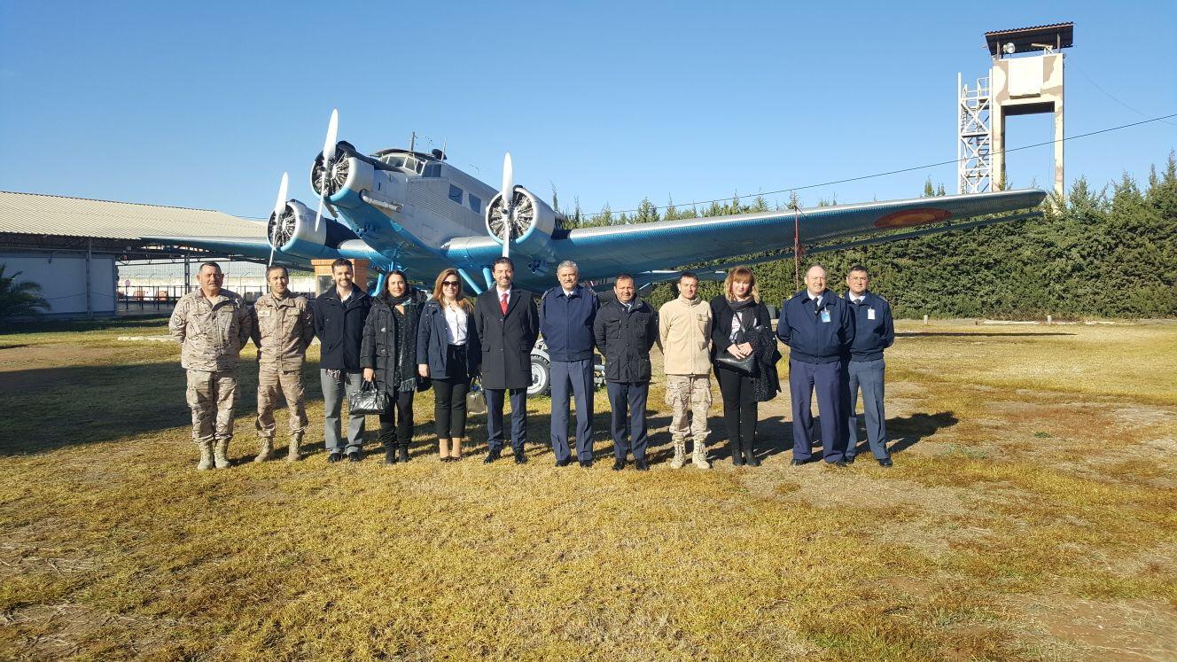 FREMM y la Base Aérea de Alcantarilla, por los cielos en prevención y formación