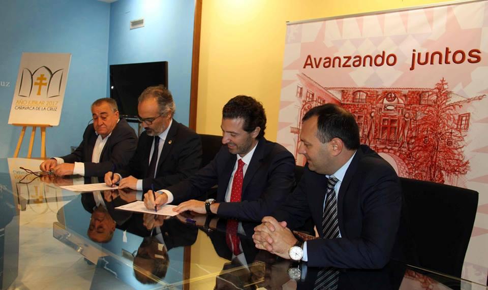 Pymes y jóvenes protagonizan el acuerdo de FREMM con el Ayuntamiento de Caravaca