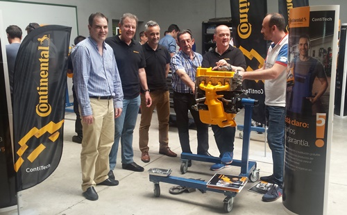 Continental forma en FREMM a 120 profesionales en reparación de automóviles