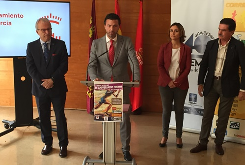 """FREMM, Ayuntamiento de Murcia y Cruz Roja invitan a los murcianos a """"Correr por la Infancia"""" este domingo 22 de octubre"""