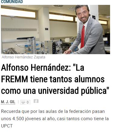 El presidente de FREMM expone el camino a la excelencia empresarial en La Opinión