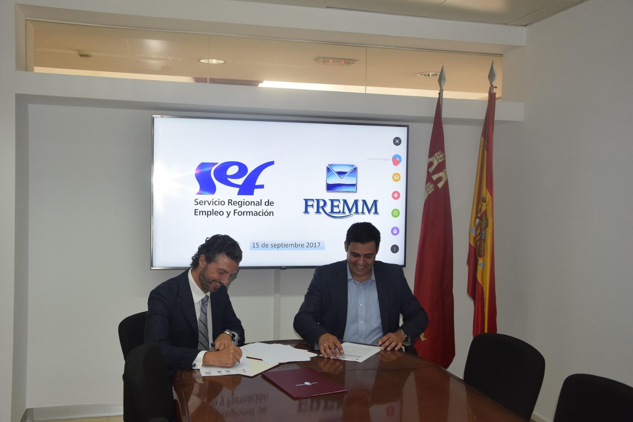FREMM completará la formación del Centro de Referencia Nacional de Cartagena