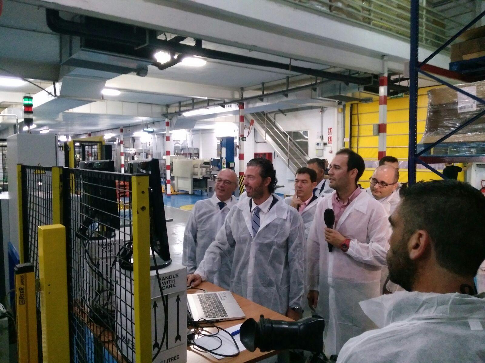 Inemur muestra el revolucionario sistema Wepall para programar cualquier tipo de robot