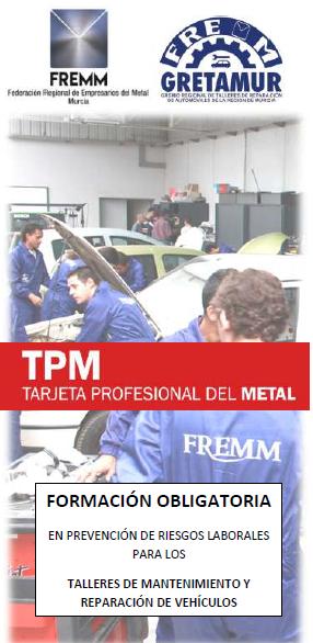 FREMM ofrece los cursos obligatorios de prevención laboral a los talleres de automóviles
