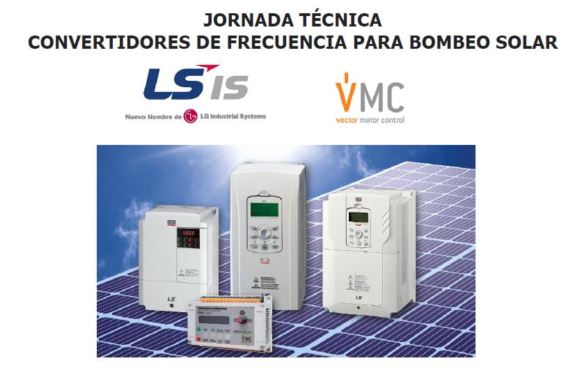 Jornada técnica sobre convertidores de frecuencia para bombeo solar