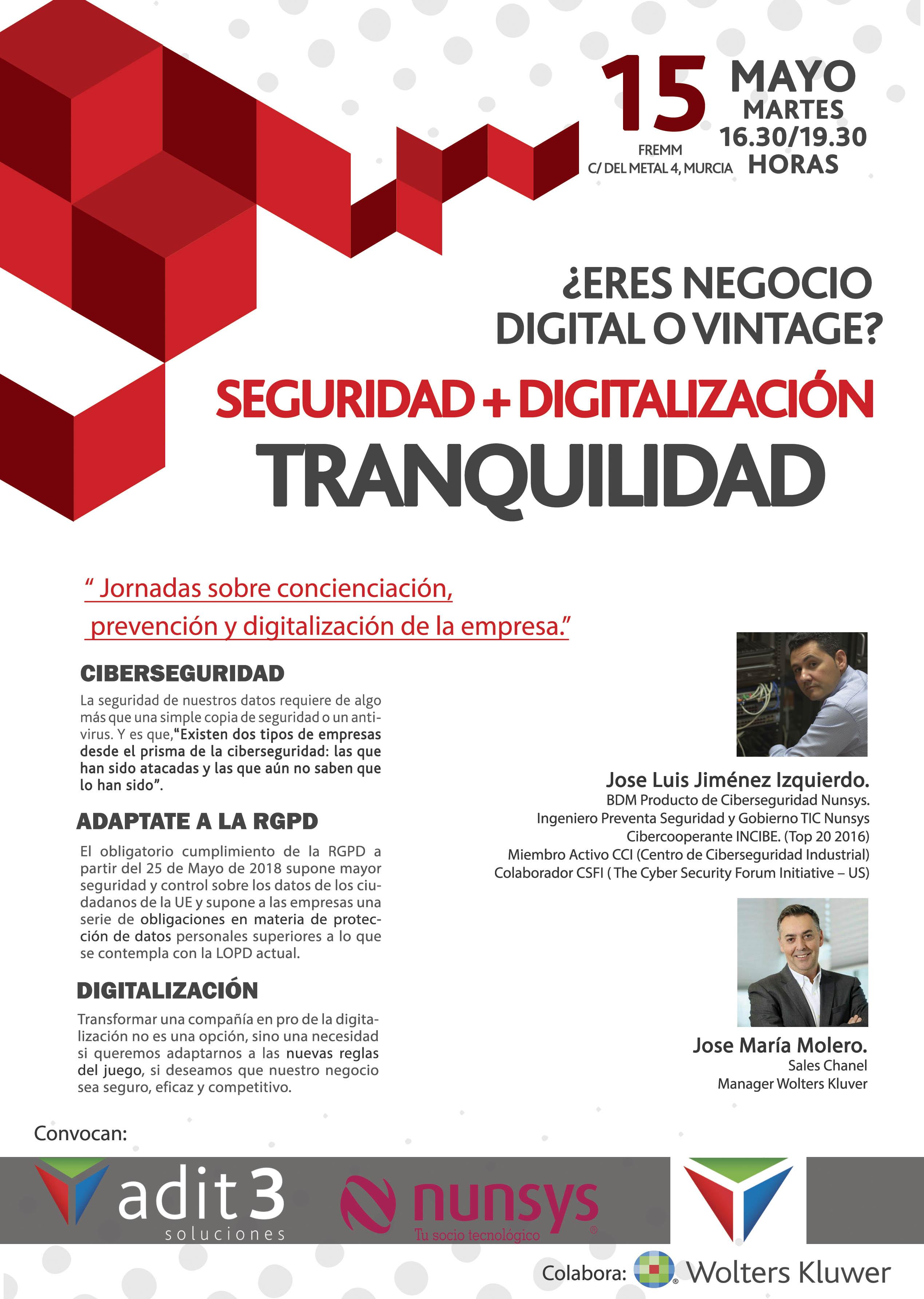 FREMM da las claves para la protección de datos y la digitalización
