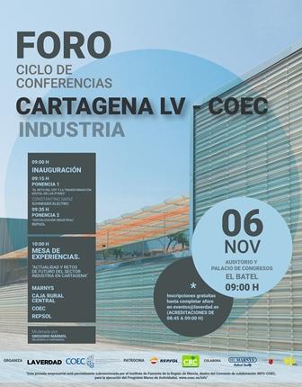 Cartagena celebra un Foro de la Industria