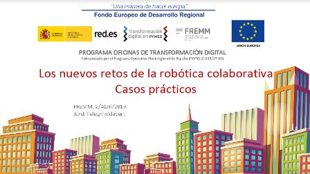 La OTD de Murcia mostrará las ventajas de la robótica colaborativa