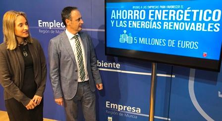 Ayudas de hasta 200.000 euros para energías renovables y ahorro energético en las empresas