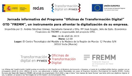 La Oficina de Transformación Digital llega a las empresas del Mueble