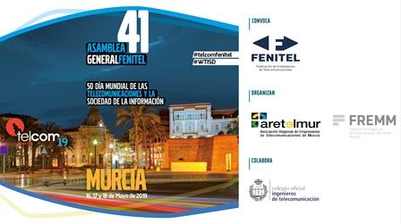 TELCOM¿19 conectará en FREMM a más de 300 expertos en telecomunicaciones y digitalización