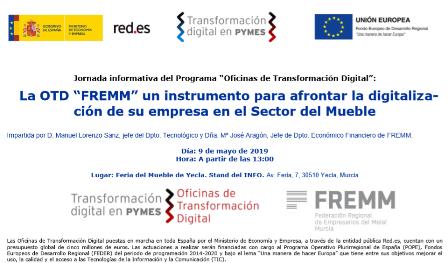 FREMM presenta la Oficina de Transformación Digital en la Feria del Mueble de Yecla
