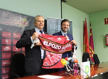 FREMM y ELPOZO Fútbol Sala firman un acuerdo en beneficio de sus empresas y socios