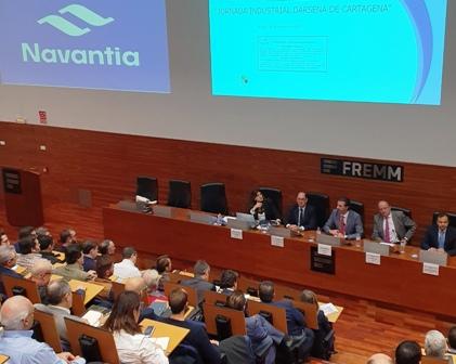 FREMM y Navantia abren la puerta a facilitar la colaboración de las empresas del metal de la Región en proyectos de la constructora naval