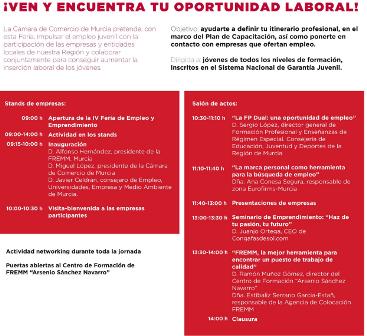 Fremm acoge la IV Feria de Empleo y Emprendimiento con 29 de sus empresas buscando jóvenes