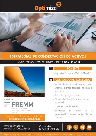 Jornada sobre estrategias de conservación de activos