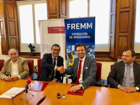 La UMU y FREMM acuerdan impulsar la formación y el empleo