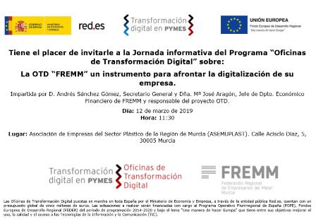 FREMM presenta a los empresarios de Plásticos la Oficina de Transformación Digital