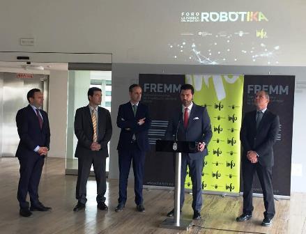 Las empresas de FREMM mostrarán su talento tecnológico en el I Foro de Robótica