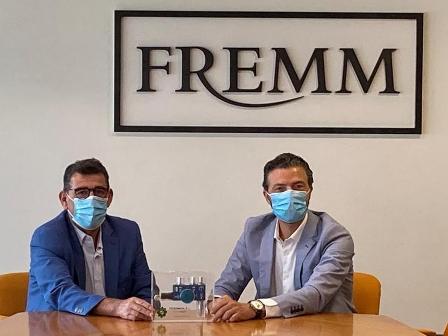 TECSUMAGA entrega a las empresas de FREMM el respirador frente al COVID 19 fruto de la colaboración