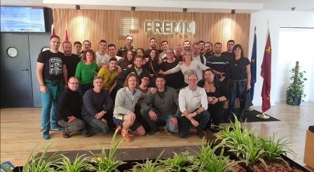 Profesores y alumnos del Centro de Formación de FREMM celebran una jornada de convivencia