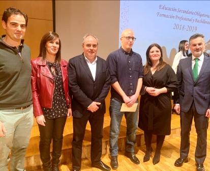 Premio Extraordinario de FP al alumno del CIFP FREMM David Aguilar Almagro