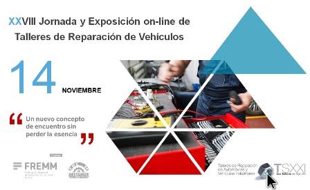 FREMM y GRETAMUR organizan online la jornada y exposición de Talleres de Reparación el 14N