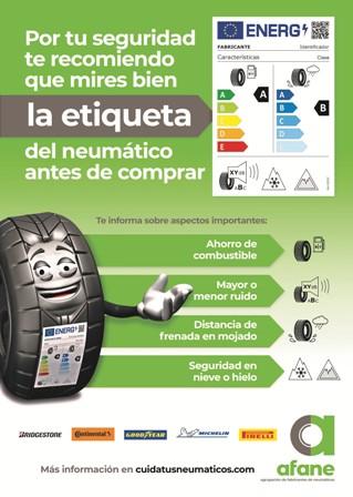 Los talleres de FREMM divulgarán la nueva etiqueta del neumático en favor de la seguridad
