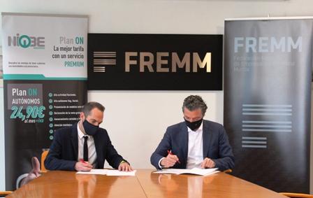 Los socios de FREMM tendrán un descuento del 10% en la asesoría fiscal, laboral y contable NIOBE