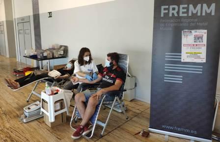La campaña de donación de sangre de la Fundación FREMM logra 52 nuevos donantes