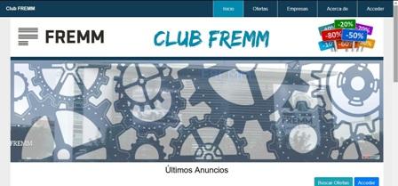 Los productos contra el COVID disparan hasta 20.000 las visitas al Club FREMM