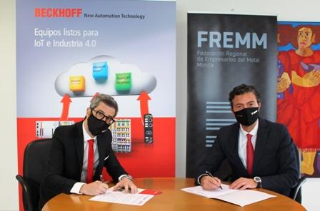 FREMM se alía con la multinacional Beckhoff Automation para impulsar la digitalización e Industria 4.0