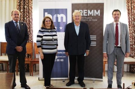 Las empresas de la FREMM tendrán descuentos en El Hotel Manolo de Cartagena