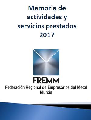 Memoria de Actividades y Servicios 2017