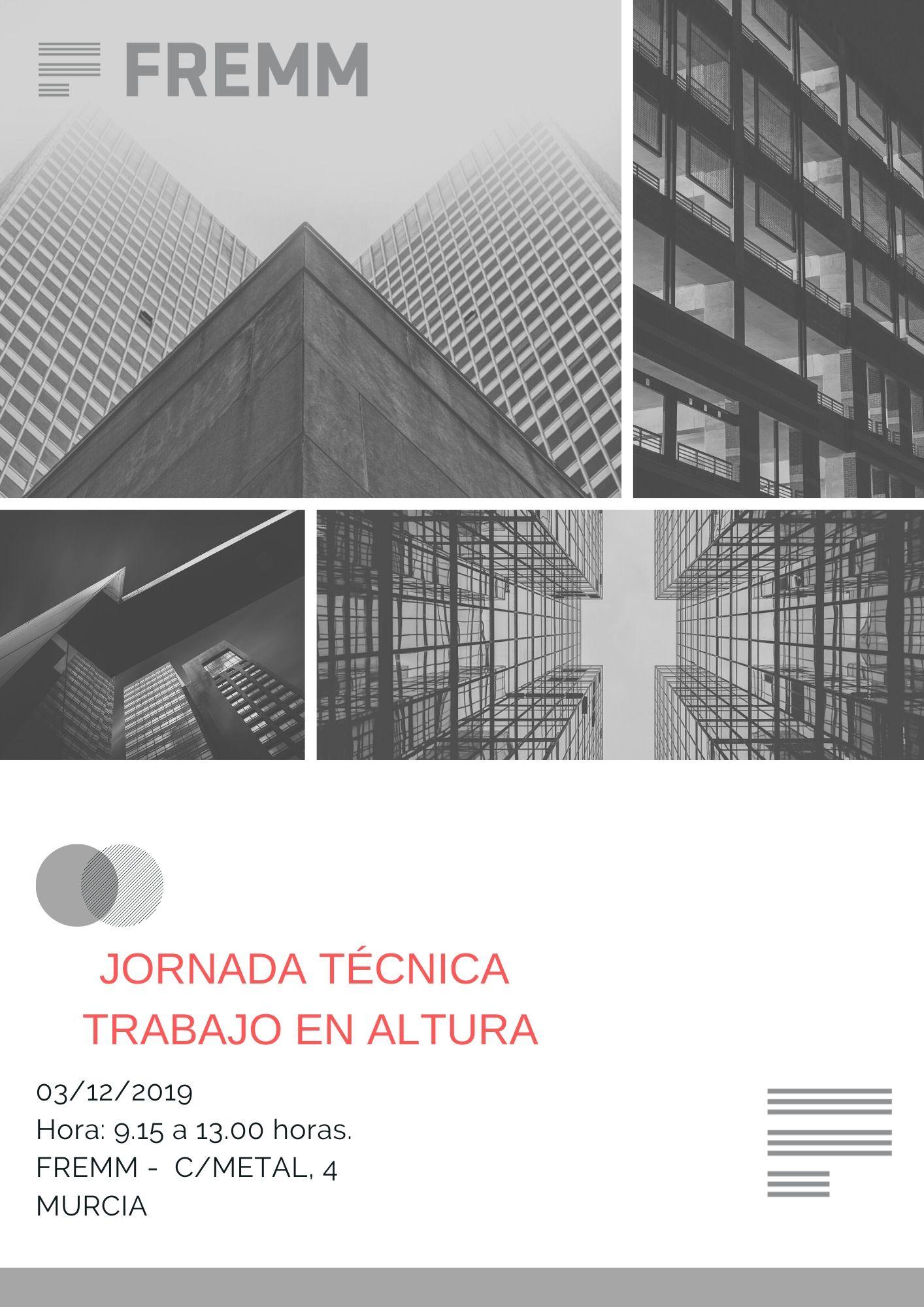 Jornada de Trabajo en Altura - Cubiertas y Plataformas Elevadoras