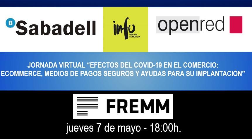 """Documentacion Videoconferencia """"Efectos del Covid 19 en el Comercio: Ecommerce, medios de pago seguro y ayudas para su implantacion"""" 07-05-2020"""