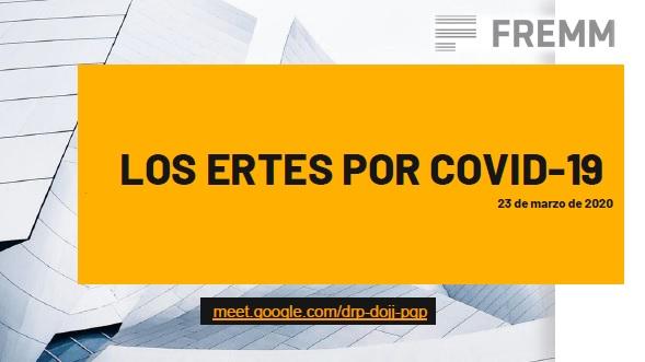 """Documentacion Videoconferencia """"Los ERTEs por Covid-19"""" de 23/03/2020"""