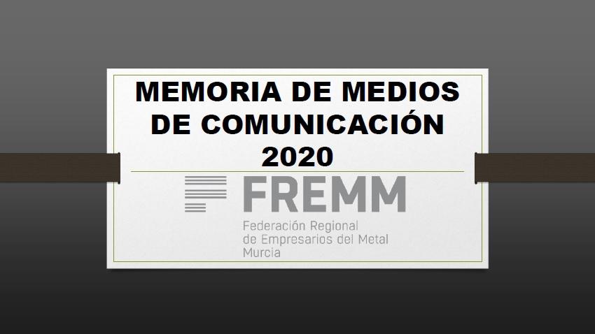 Memoria de Prensa de Fremm de 2020