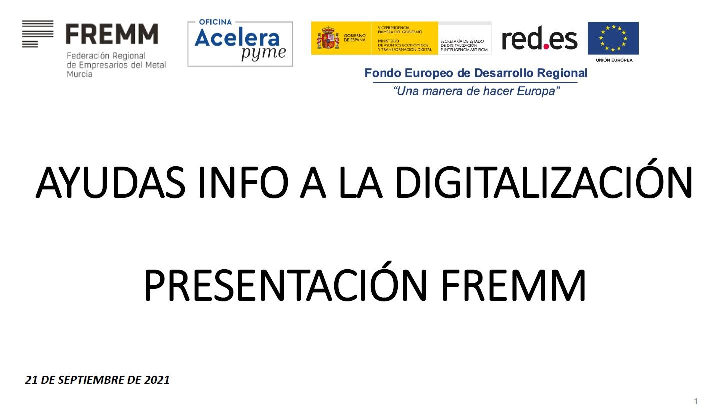 Ayudas Info a la Digitalización 09/2021